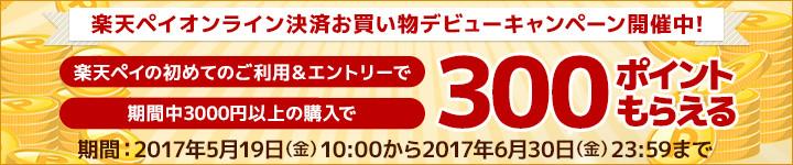 提携サイト数4,000以上! 楽天ペイ オンライン決済 のお買い物デビューキャンペーン